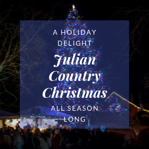 Julian Christmas Tree Lighting 2020 Country Christmas in Julian