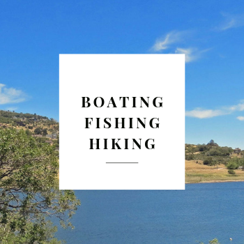 Boating, Fishing and Hiking in julian