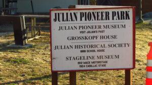 Pioneer Park in Julian
