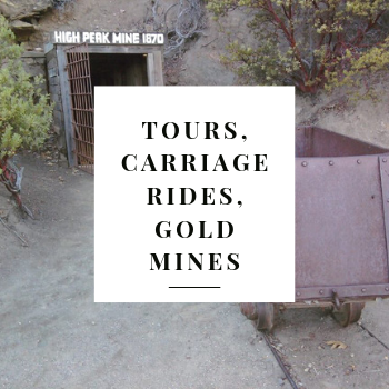 Tours, Carriage Rides, Gold Mines