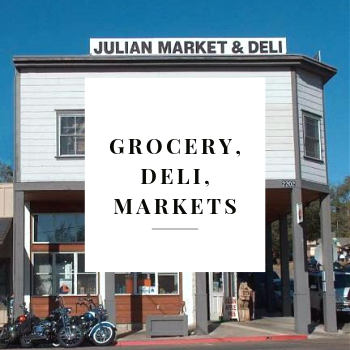 Julian Grocery and deli and markets