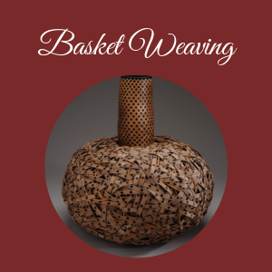Basket weaving photo