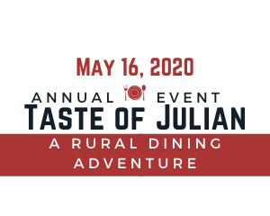 May 16 2020 Taste of Julian