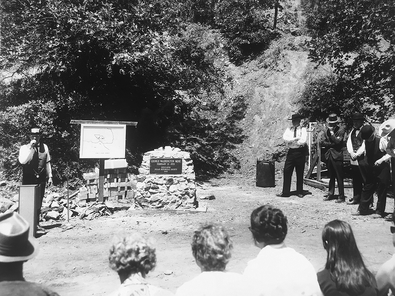 Mine-Dedication1970 Photo