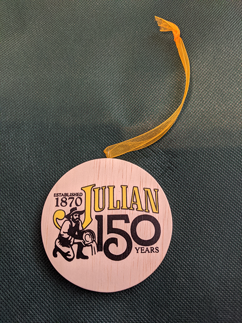 Julian 150 year ornament photo