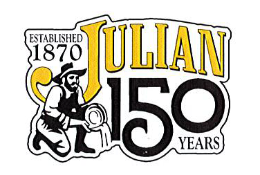 Julian 150 year logo