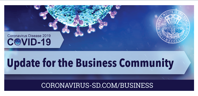 Covid updates for the business community