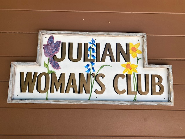 womans-club-sign