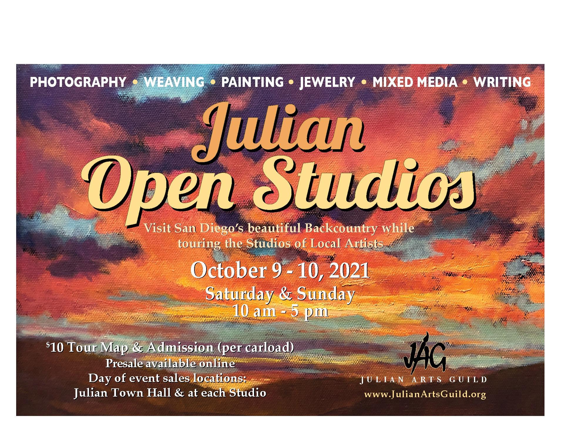 Julian Open Studios postcard