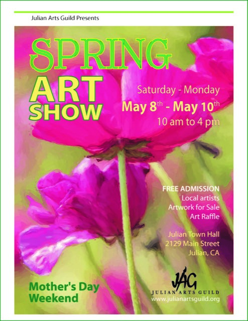 Spring Art Show Poster