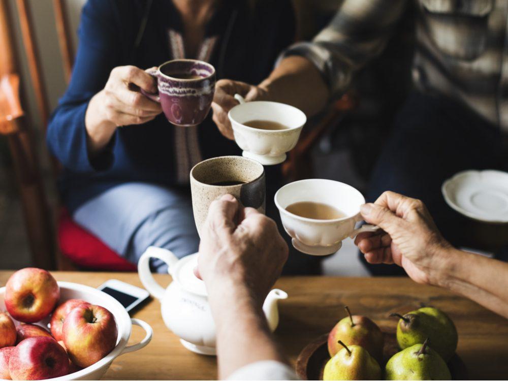 drinking-tea-benefits-skin-care photo