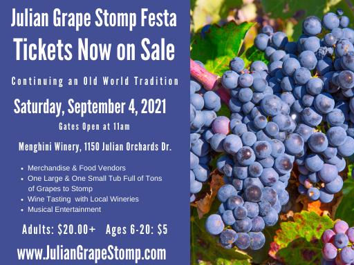 Grape Stomp Poster