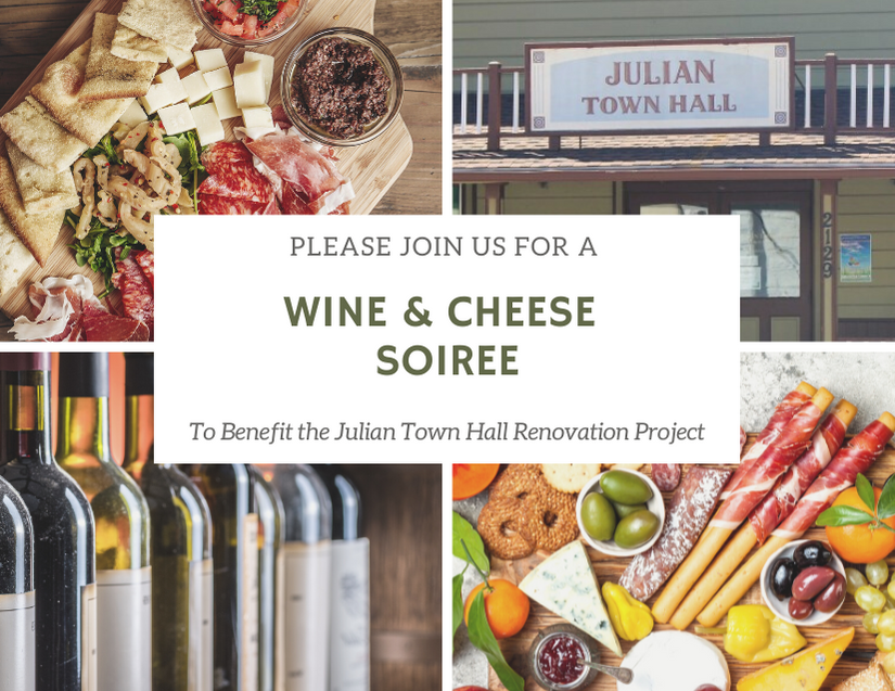 Wine & Cheese Soiree For Town Hall Project photo