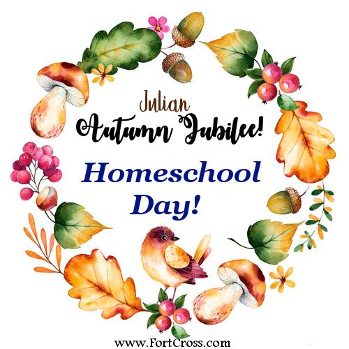 Autumn Jubilee Homeschool Day Fort Cross Logo