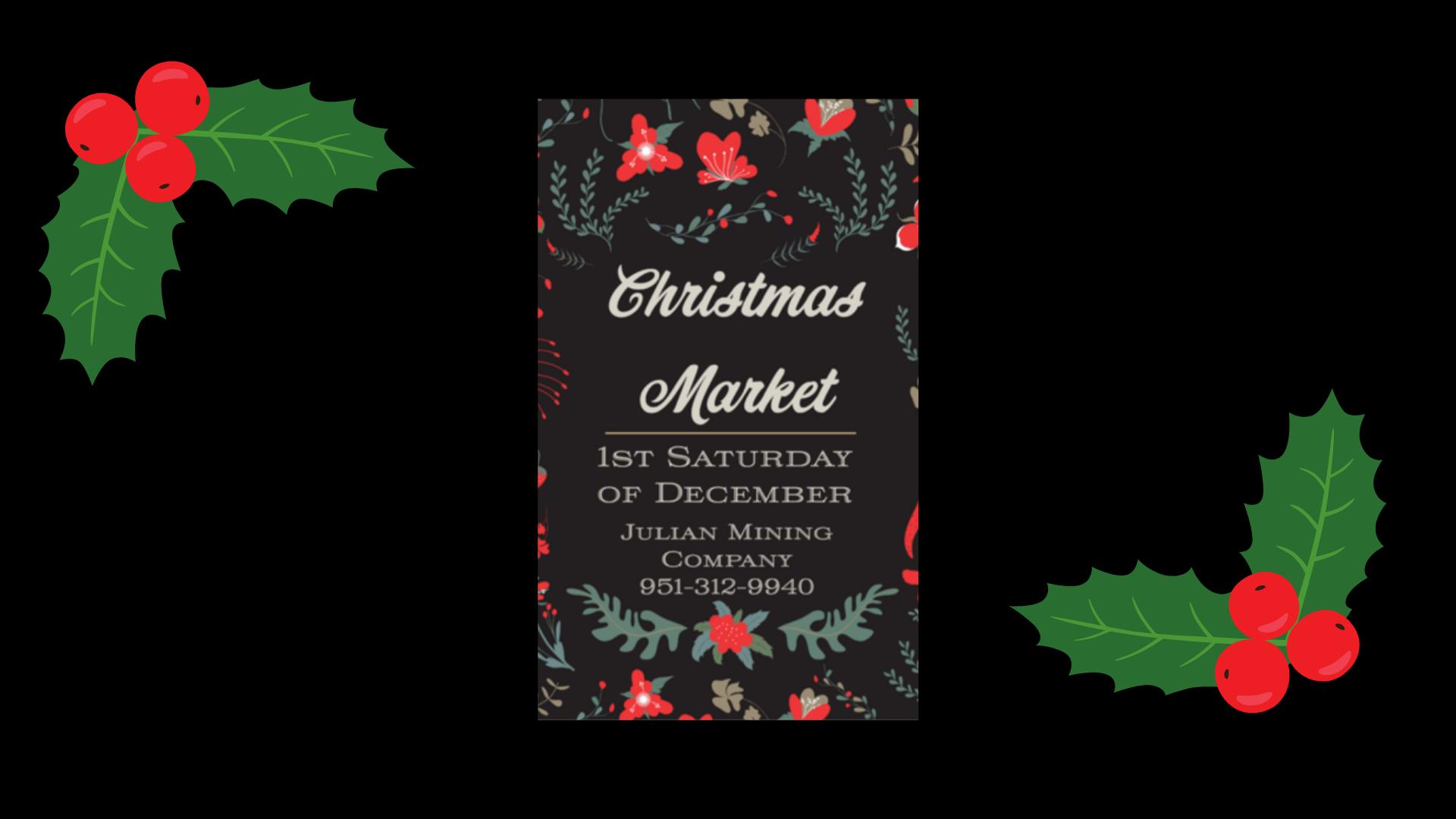 2021 Christmas Market fb cover photo